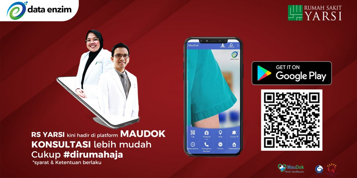 RS YARSI launch app MAUDOK